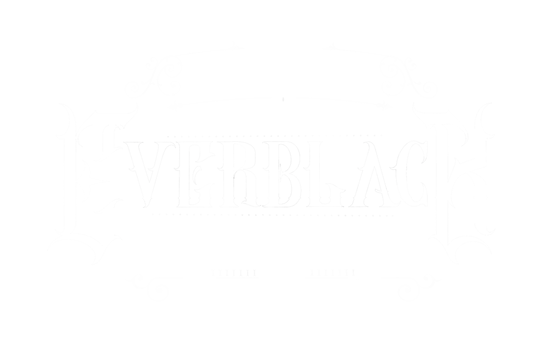 everblack tattoo studio sheffield sign logo gothic rococo